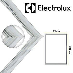 Gaxeta Borracha Porta Refrigerador Electrolux Db52 Db52x 103x69 Inferior