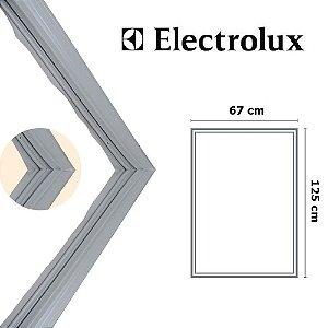 Gaxeta Borracha Porta Refrigerador Electrolux Dw51 Dw51x 125x67 Inferior