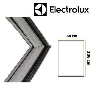 Gaxeta Borracha Porta Refrigerador Electrolux Df35 Df38 Dff37 106x68 Inferior