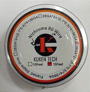 Nichrome 80 Framed Staple - Kuken Tech