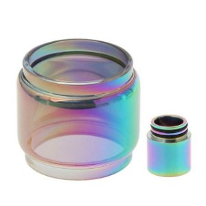 Vidro+Drip Tip Rainbow TFV12 Prince
