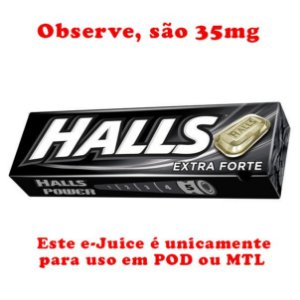 Halls Black 35mg SALT - 30ml