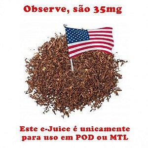 USA Tobacco 35mg SALT - 30ml