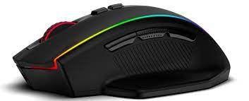 Mouse Gamer Redragon Vampire RGB Preto 16000 DPI Sem Fio M686-RGB