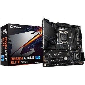 Placa Mãe B560m Aorus Elite Intel Lga 1200 11°/10° Gigabyte