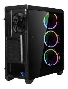 Gabinete ATX/MicroATX MultilaserGA179 Gamer