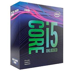 Processador Intel Core i5-9600K Coffee Lake Refresh, Cache 9MB, 3.7GHz (4.6GHz Max Turbo), LGA 1151 - BX80684I59600K