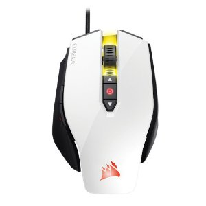 Mouse Gamer Corsair 12000DPI RGB 8 Botões Branco M65 Pro - CH-9300111