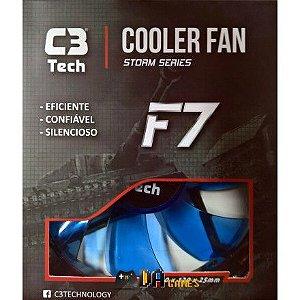 Fan Cooler 80mm Para Gabinete C3tech