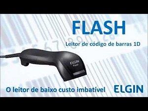 Leitor De Código De Barras Ccd Flash Preto 46flashckd00 Usb