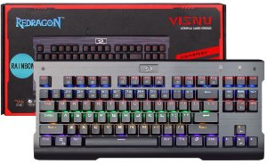 Teclado Mecânico Redragon VISNU Rainbow