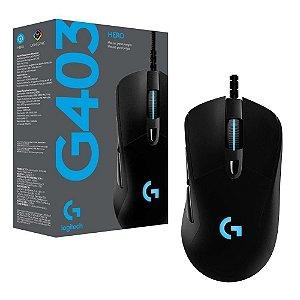 Mouse Gamer Logitech G403 RGB Lightsync, 6 Botões, 12000 DPI