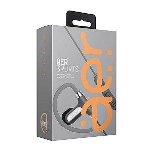 Fone de Ouvido Auricular AER Aersports Bluetooth AER02G Prata