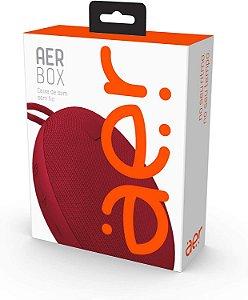 Caixa De Som Geonav Sem Fio Aerbox Bluetooth Vermelho