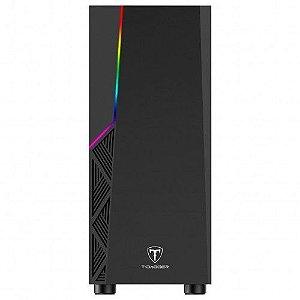 Gabinete T-Dagger TGC-P02B Preto LED RGB