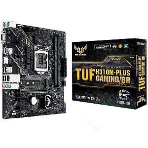 Placa Mãe Para LGA1151 AsusTUF H310M-PLUS Gaming/BR