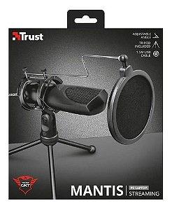 Microfone USB com tripé Trust