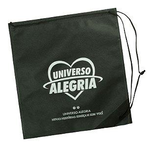 Sacola Universo Alegria - Preta