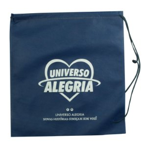 Sacola Universo Alegria - Azul