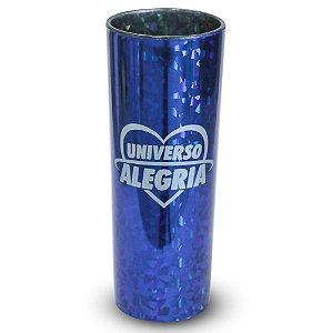 Copo 330ml Holográfico Azul