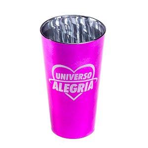 Copo 500ml Metalizado Rosa