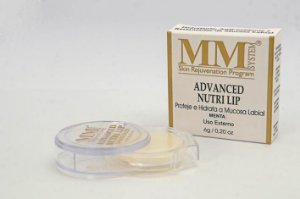Advanced Nutri Lip [Hidratante Labial] MM System 6g - Menta (Disco)