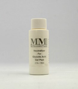 Neutralizer For Glycolic Acid Gel Peel [Loção Facial Neutralizadora da Ação do Ácid. Glicólico]  MM System - 59ml