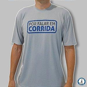 Camiseta Oficial Por Falar em Corrida