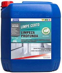 Limpe Certo Limpeza Profunda Porcelanato e Piso Encardido 20 Litros - Performance Eco