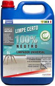 Limpe Certo 100% Neutro Limpador Universal 5 Litros - Performance Eco