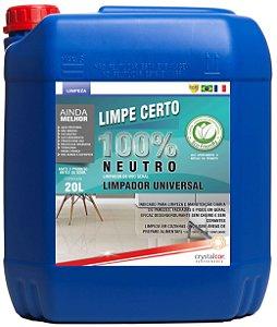 Limpe Certo 100% Neutro Limpador Universal 20 Litros - Performance Eco