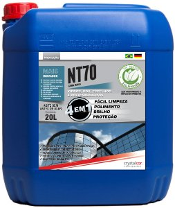 NT70 - Vidros e Acrílicos Impermeabilizante Instantâneo 20 Litros - Performance Eco