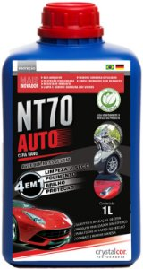 NT70 Auto Limpeza a Seco Polimento Brilho e Proteção 1 Litro - Performance Eco