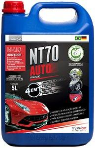 NT70 Auto Limpeza a Seco Polimento Brilho e Proteção 5 Litros - Performance Eco