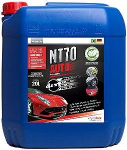 NT70 Auto Limpeza a Seco Polimento Brilho e Proteção 20 Litros - Performance Eco