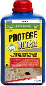 Protege Ultra - Proteção Contra Pichação Fuligem Poluição Água e Óleo 1 Litro - Performance Eco