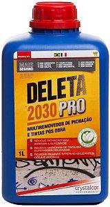 Deleta 2030 PRO - Removedor de Pichação e Tintas Pós Obra 1 Litro - Performance Eco