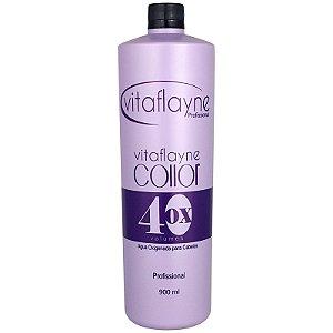 Água Oxigenada Cremosa Collor 40 Volumes 900ml - Vitaflayne