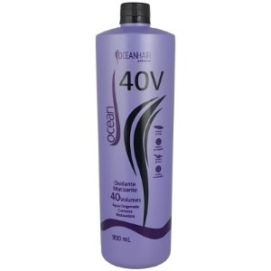 Água Oxigenada Cremosa Matizadora 40 Volumes Ocean Color 900ml - Ocean Hair
