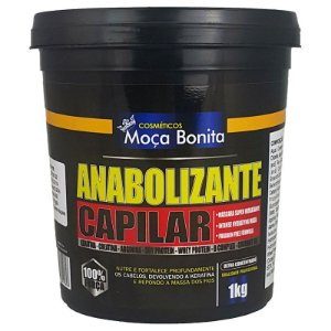 Anabolizante Super Hidratante Capilar 1Kg - Cosméticos Moça Bonita