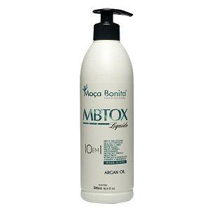 Botox Máscara 10 em 1 Liquida Reconstrutor Capilar 500ml - Moça Bonita