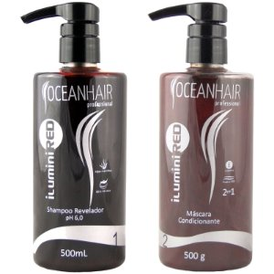 Ilumini Red Matizador de Tons Vermelhos 500ml - Ocean Hair