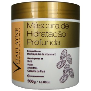 Máscara de Hidratação Profunda 500g - Vitaflayne