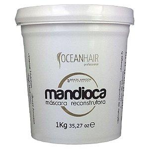 Máscara Hidratação Reconstrutora Mandioca 1 Kg - Ocean Hair