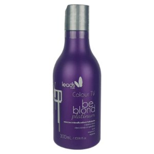 Máscara Intensificadora Hidratante Colour Tv Be Blond Platinum 300ml - Leads Care