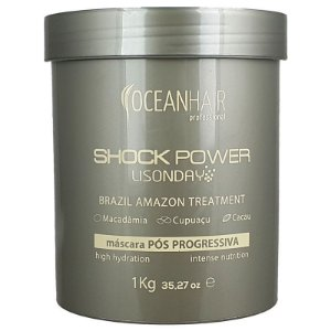 Máscara Pós Progressiva Lisonday Shock Power 1kg - Ocean Hair