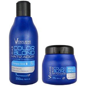 Matizador Max Color Blond Manutenção 2x250g - Vitaflayne