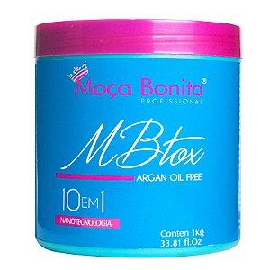 Mbtox Argan Oil Free 10 em 1 Redutor de Volume Super Brilho 1kg - Moça Bonita