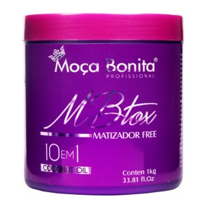 Mbtox Matizador Free 10 em 1 Redutor de Volume 1 Kg - Moça Bonita