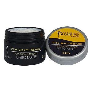 Pomada Cera de Fixação Efeito Mate Fix Extreme 50g - Ocean hair